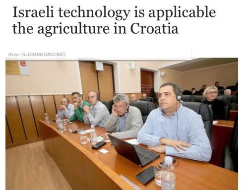 The Use of New Technologies in Agriculture Seminar in Croatia