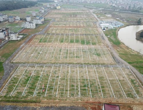 Construction for the newest agro-park is in full throttle and it's in China